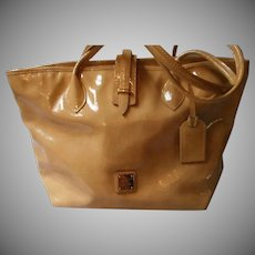 Vintage Dooney & Bourke Patent Leather Handbag