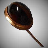 Lovely Early Century Stick Pin with Natural Stone