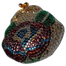 Vintage Judith Leiber Jeweled Coin or Perfume