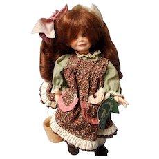 "Vintage Robin Woods ""Little Orphan Annie"" Doll 1986"