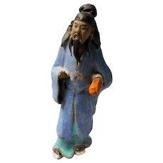 vintage Chinese Mud Figure
