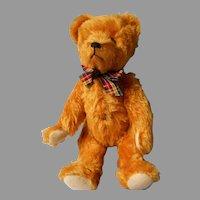 Vintage Gold Mohair German Bear