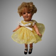 Vintage 13 inch Compo Shirley Temple