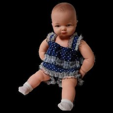 """Vintage Pin Jointed Cameo """"Miss Peep"""" Doll"""