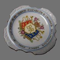 Vintage H.M. Queen Elizabeth II Coronation Dish
