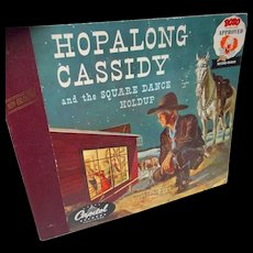 1950's Hop-Along-Cassidy Book and Records