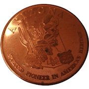 Vintage Arizona Copper Coin from Arizona Mining Assoc.