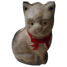Vintage Cast Iron Cat Bank