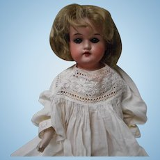 Vintage AM 370 Bisque Head Doll
