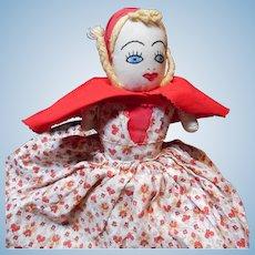 Vintage 3 Faced Topsy-Turvy Doll