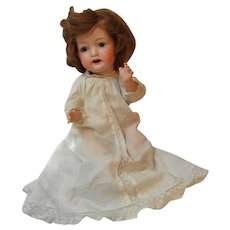 "13"" Bisque Head Baby Doll by Morimura Bros. - Red Tag Sale Item"