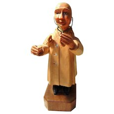 Anri Hand Carved Physician Figure