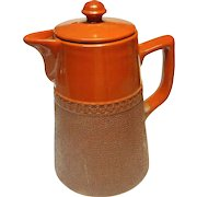 Vintage Langley Pottery Chocolate Coffee Pot