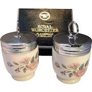 Vintage Porcelain Egg Coddler Cups