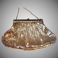 Vintage Whiting and Davis Mesh Evening Bag