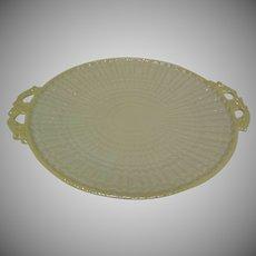 Vintage 3rd Black Mark Irish Belleek Platter