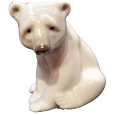 Vintage Lladro Polar Bear
