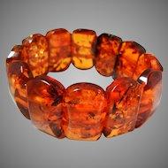 Vintage Baltic Amber Bracelet