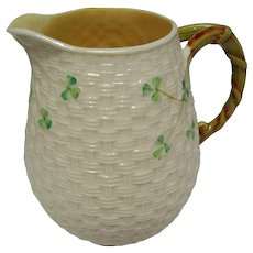 Vintage 5.75 inch Irish Belleek Pitcher