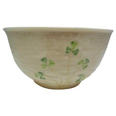 Vintage Irish Belleek Bowl