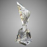 """Vintage 8.5"""" German Crystal Perfume"""