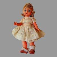 """Vintage Madame Alexander Strung 8"""" Doll"""