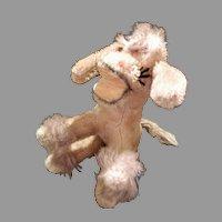 Vintage German Mohair Donkey