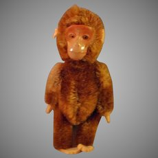 5 Inch Schuco Mohair, Mechanical Yes-No Monkey