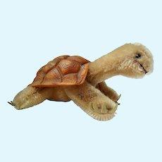 "Vintage Steiff Mohair Turtle, ""Slo"""