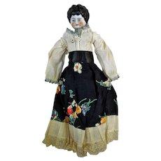 Vintage German China Head Doll