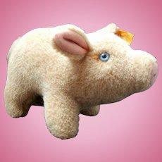 Vintage Steiff Pig