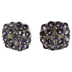 Vintage Sterling Pierced Earrings