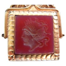 Antique Carnelian Intaglio Watch Fob