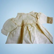 Antique Cotton Doll Dress