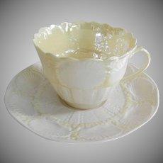 Irish Belleek Cup and Saucer