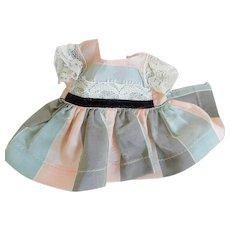 """Un-Tagged Vintage 8"""" Satin Doll Dress"""
