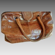 Vintage Italian All Leather Physicians Bag