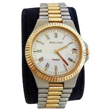 Vintage Solvil et Titus Stainless Wristwatch
