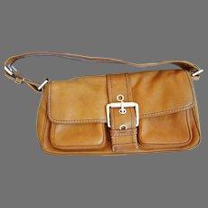 "Lovely Camel Colored Leather ""Michael Kors"" Handbag"