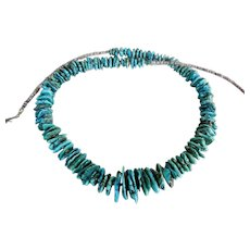 Native American Natural Turquoise Necklace
