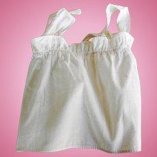 Vintage Cotton Doll Apron or Dress