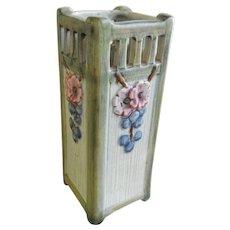 Vintage Square Weller Kylro Vase
