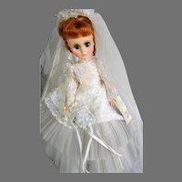 Vintage 1965 Madame Alexander Elise Bride Doll