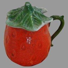Vintage German Porcelain Jam Pot with Lid