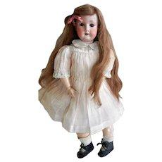 "Antique 19"" Heubach Koppelsdorf Bisque Head Doll 250.3/0"