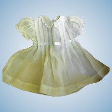 Vintage Organdy Baby or Doll Dress