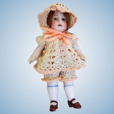 """All Bisque German 5"""" Doll"""