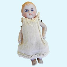 Hand Painted German All Bisque Doll