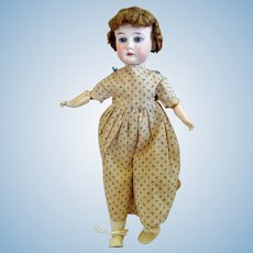 Antique 13 inch German Bisque Head Character Doll marked DIP and AM