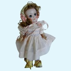 """Antique Impish 10"""" Googly Eye Doll by Demolcol on Compo Toddler Body"""